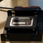 OCZ SSD and converter mount